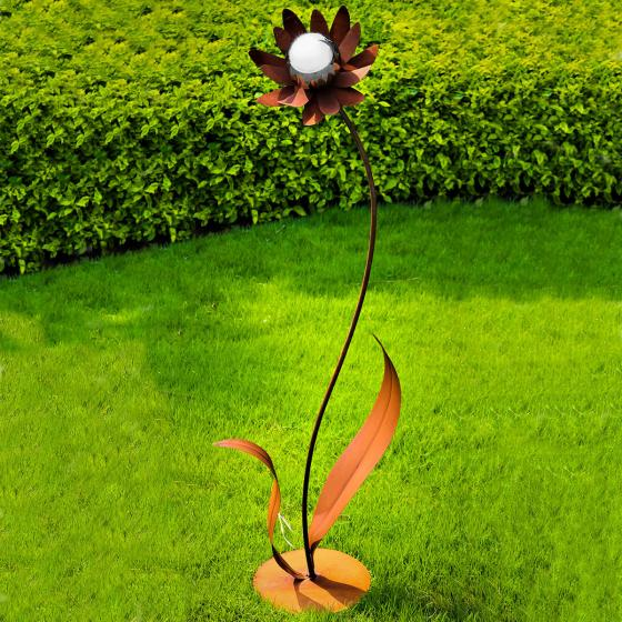 Cortenstahlblume Palermo, 120cm