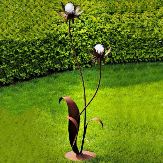 Cortenstahlblume Milano, 120cm