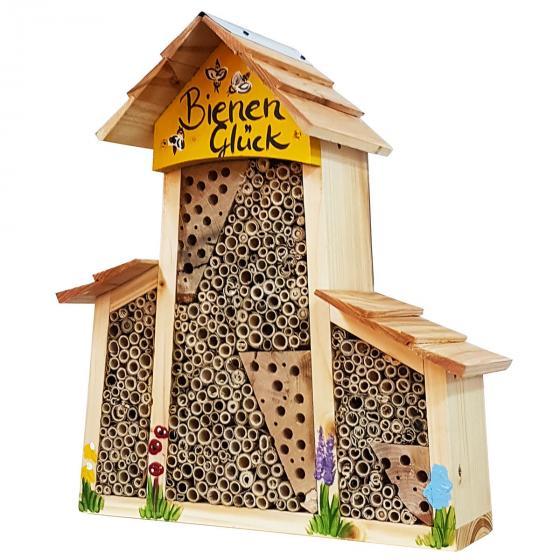 Bienenhotel Bienenglück mit  Anbau