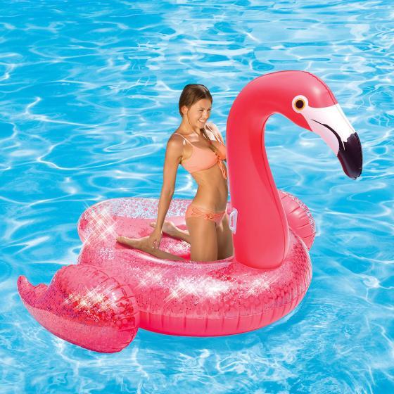 Badeinsel Flamingo Ingo