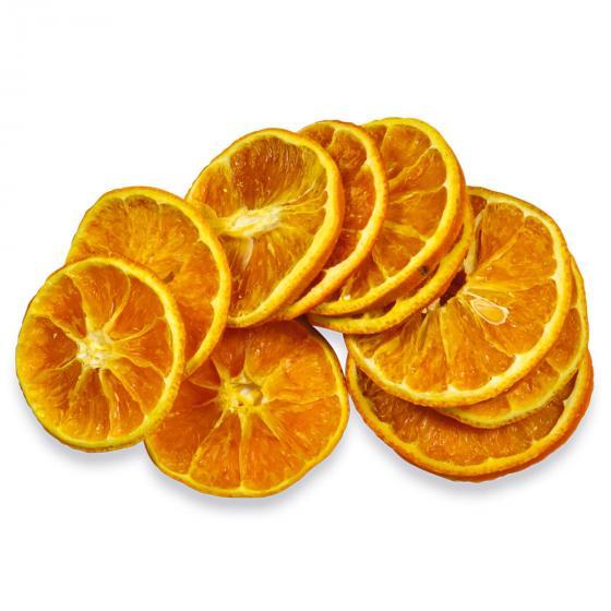 Getrocknete Orangenscheiben, 6er-Set