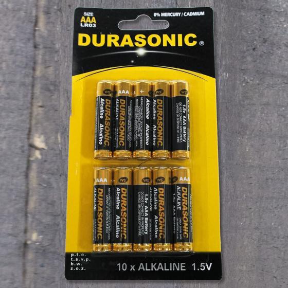 Blister Alkaline Batterie, AA, 10 Stück