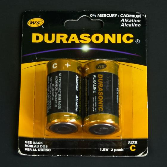 Blister Alkaline Batterie, C, 2 Stück