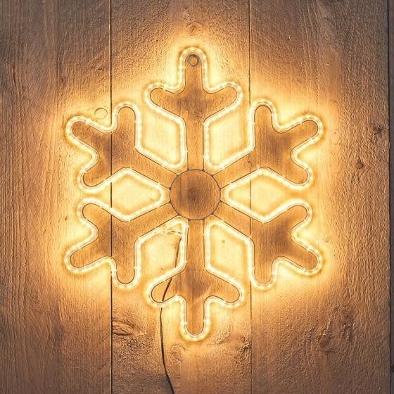 LED-Schneeflocke, 38x43 cm
