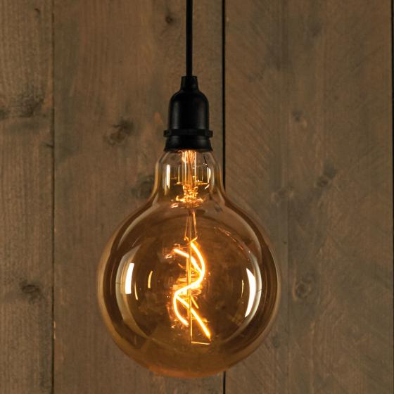 LED dekorative Retrobirne, 15x20 cm