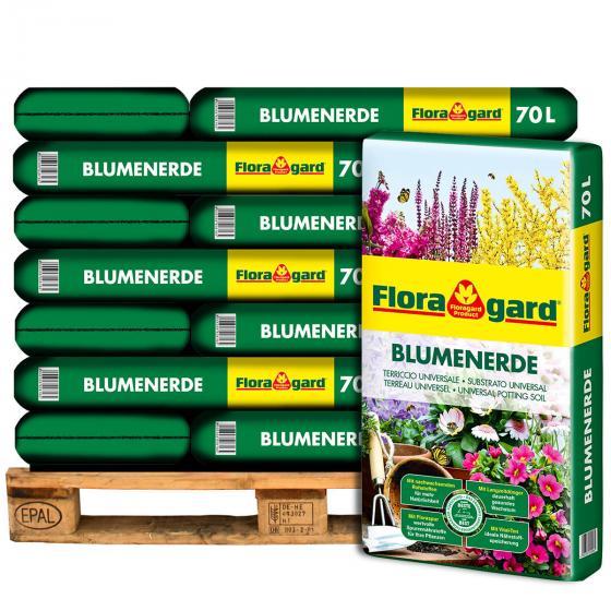 Großgebinde Blumenerde, 21 Säcke á 70 Liter
