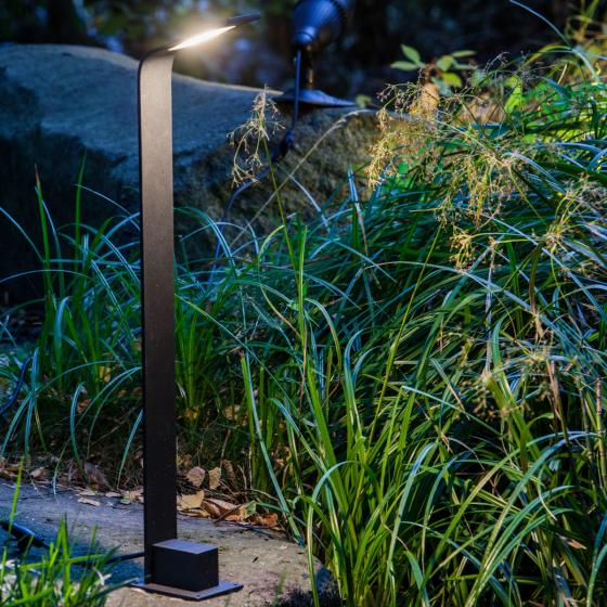 Smart Light Uferleuchte, 4 W, Metall, warmweiss,