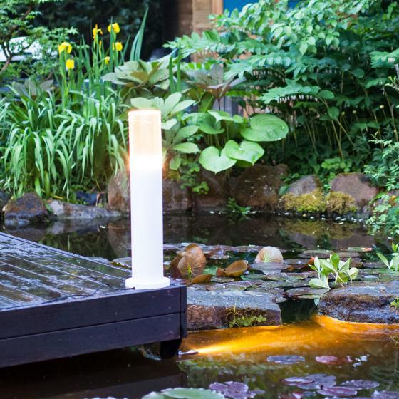 Smart Light Uferleuchte, 3 W, Metall, warmweiss