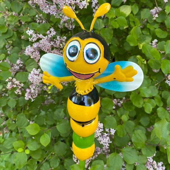 Gartenstecker Biene Mira