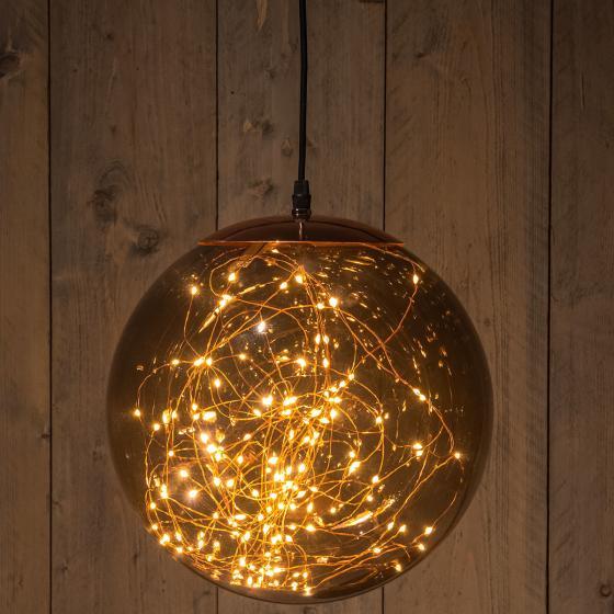 LED-Leuchtkugel Smokey, 125 LEDs, 25 cm