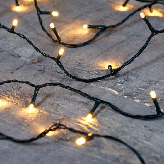 Premium LED-Lichterkette, 80 LEDs, 8 m