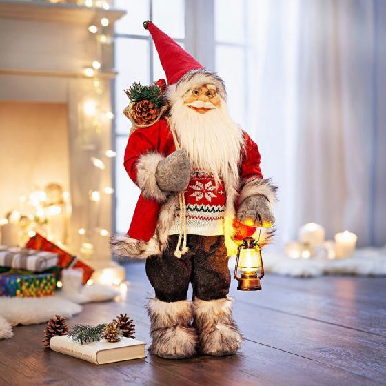 Deko-Weihnachtsmann Lucian,  60cm