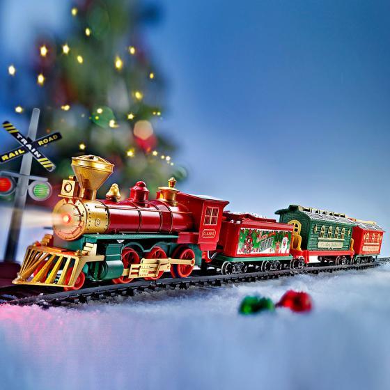"""Weihnachtszug """"Nostalgie"""" mit Licht+Sound"""