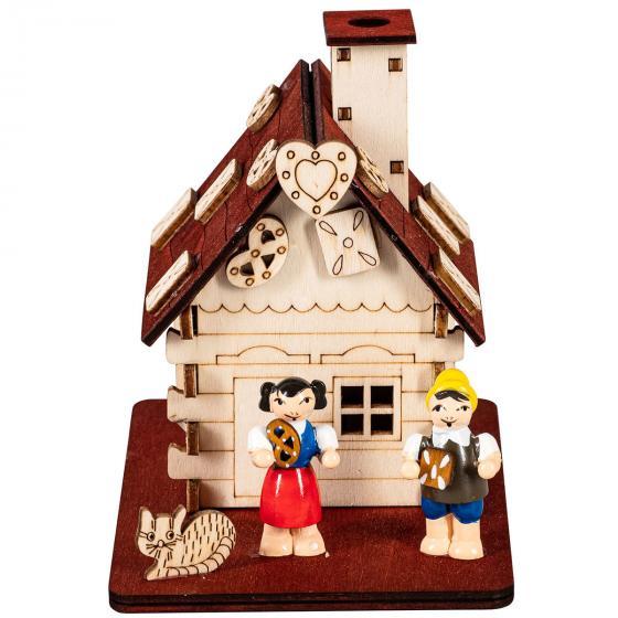 Räucherhaus mit Hänsel und Gretel