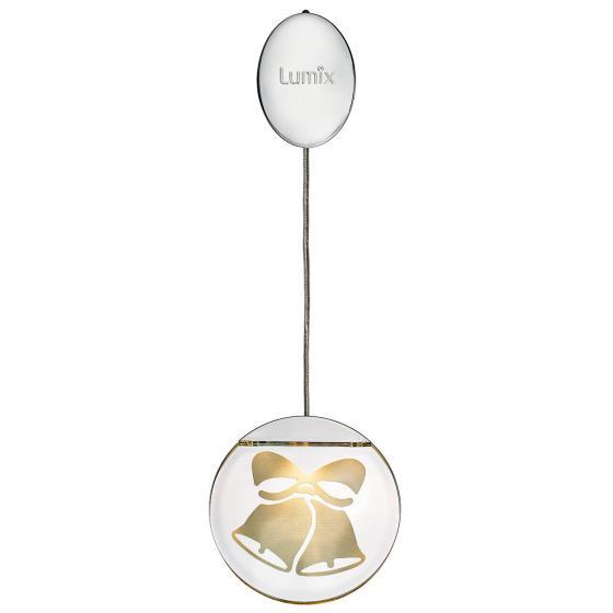 Deko-Lights Glocken, silber, Ø 10 cm