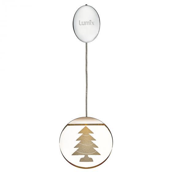 Deko-Lights Tannenbaum, silber, Ø 10 cm