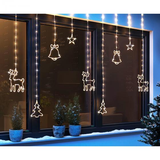 """LED-Lichtervorhang """"Weihnachten"""""""