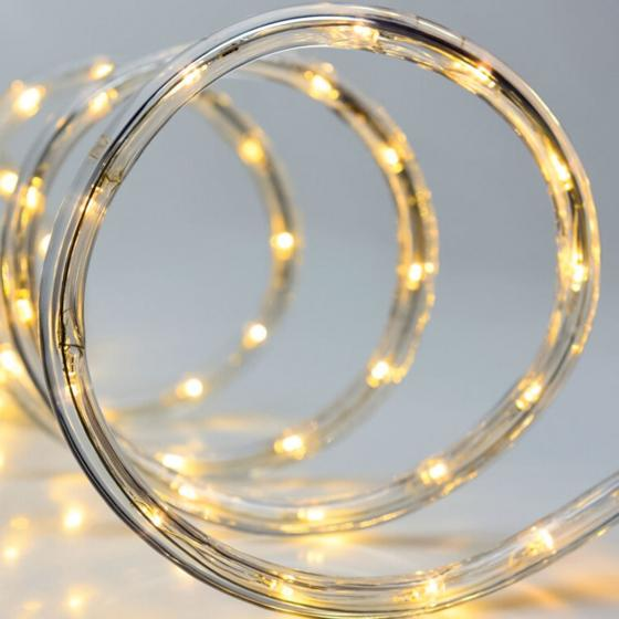 LED-Lichterschlauch, 6 m, weiß