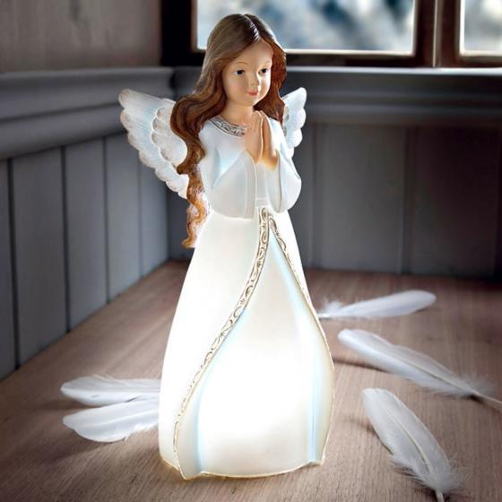 Dekoleuchte Engel