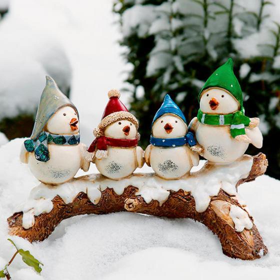 Blumenkasten weihnachtsdeko ~ Vogel Quartett Pieps Boys von Gärtner ...