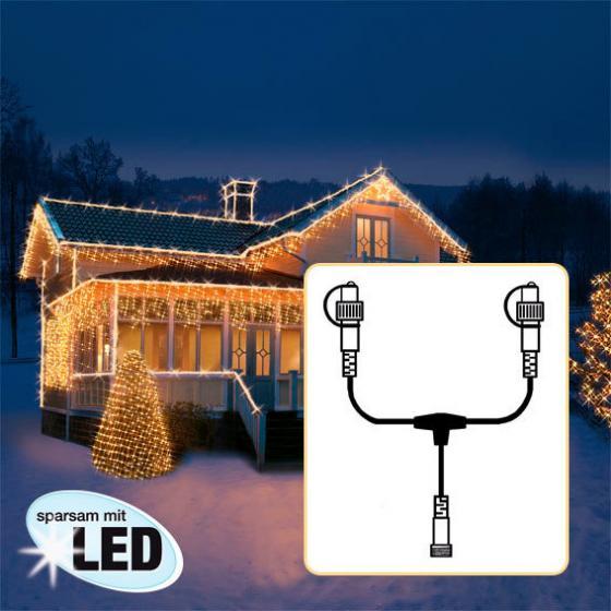 Star LED Lichtsystem T-Verteiler, 38x17 cm, schwarz