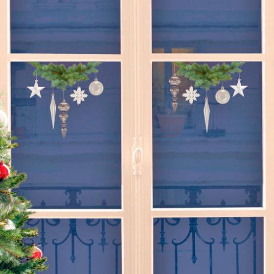 Fenster-Sticker Wintermagie