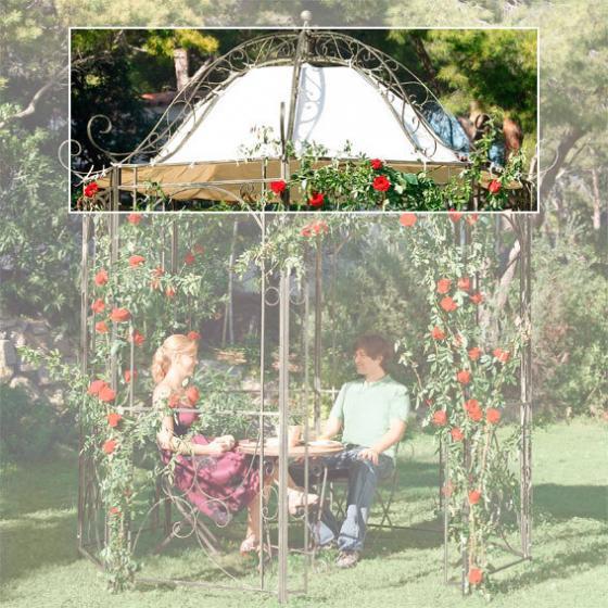 Dachplane Pavillon Märchengarten