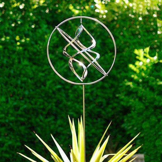 Windspiel Wind Dancer aus Edelstahl