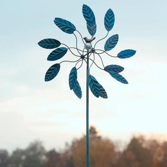 Windrad Blätterreigen