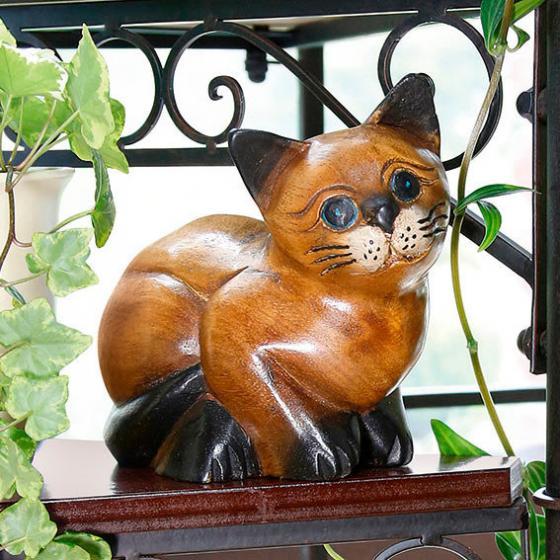 Katze Wuschel