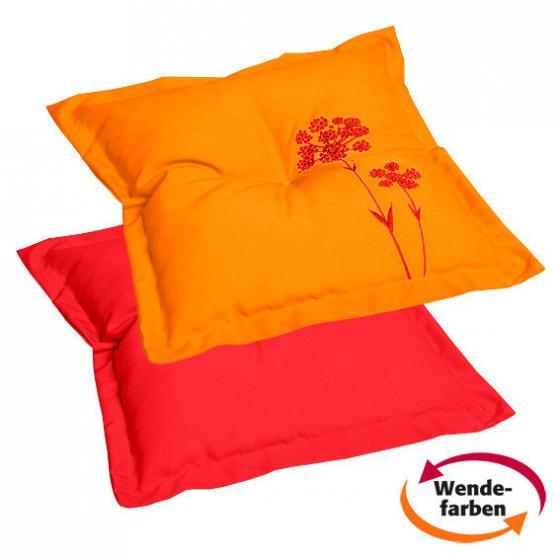 Zierkissen Samba Anisa, rot/orange