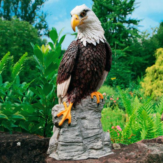 Gartenfigur Weißkopfadler