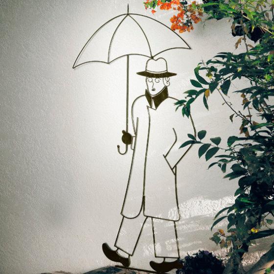 Garten-Skulptur Rain in London
