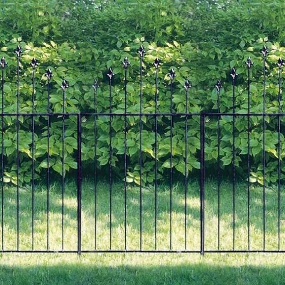 Gartenzaun Longfort, 3er-Set