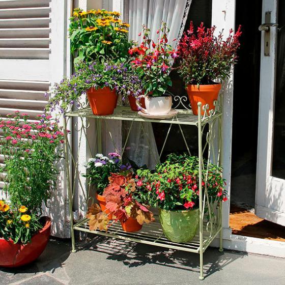 Blumentisch English Garden