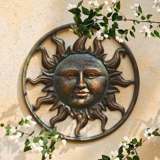Wanddeko Sonne