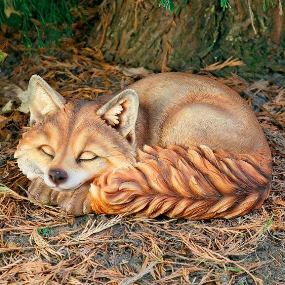 Gartenfigur Reineke, der Fuchs