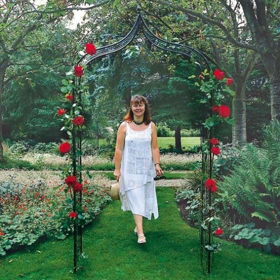 Rosenbogen Jardin en Fleurs