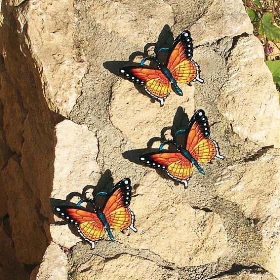 Gartenfigur Schmetterling Mariposa