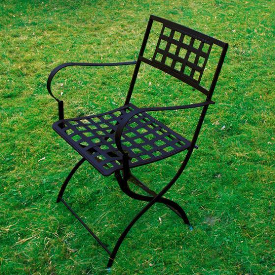 klappstuhl casablanca mit armlehne von g rtner p tschke. Black Bedroom Furniture Sets. Home Design Ideas