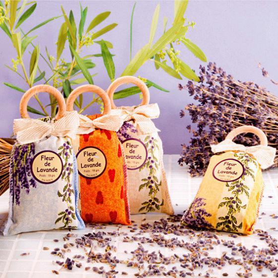 Lavendelsäckchen, 4er-Set