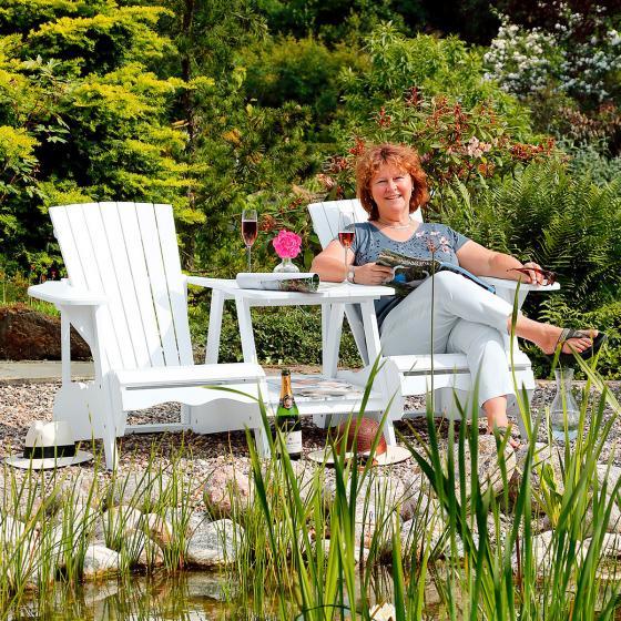 Adirondack-Zweisitzer-Sessel