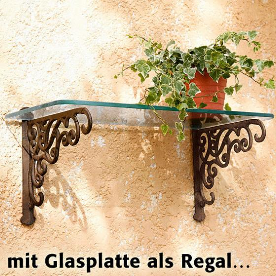 Wandhalter Romantique, 2er-Set