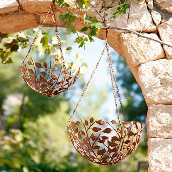 Hängekörbe Blättertraum, 2er-Set