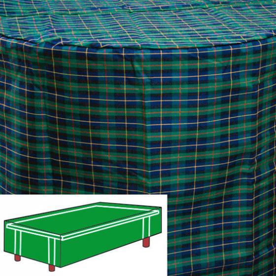 Tisch-Schutzhülle, grün, rechteckig, mittel
