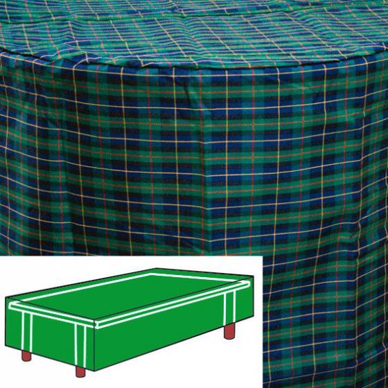 Tisch-Schutzhülle, grün, rechteckig, groß