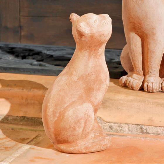 Terracotta-Katze Pussy