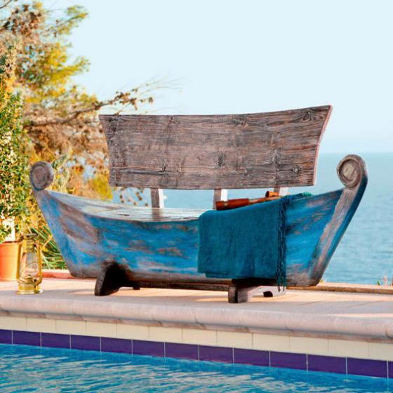 Bootsbank Schiff-Ahoi, 2-Sitzer
