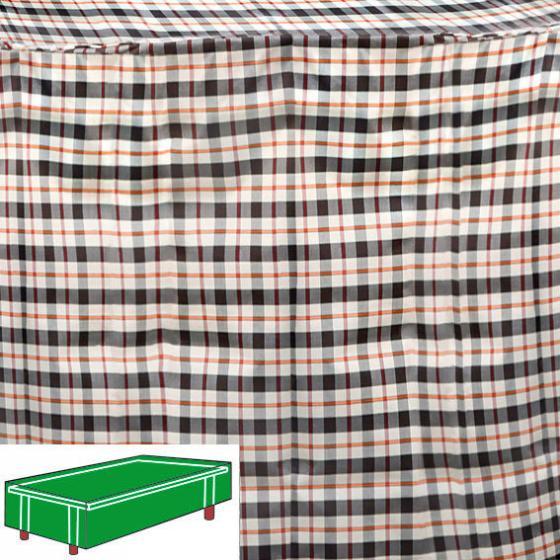 Tisch-Schutzhülle, beige, rechteckig, klein