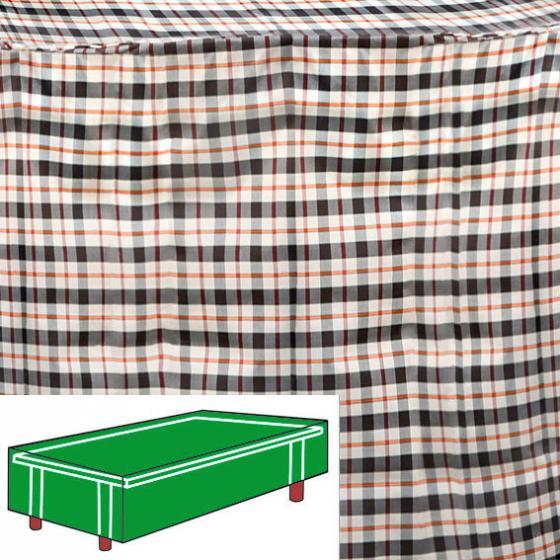 Tisch-Schutzhülle, beige, rechteckig, mittel